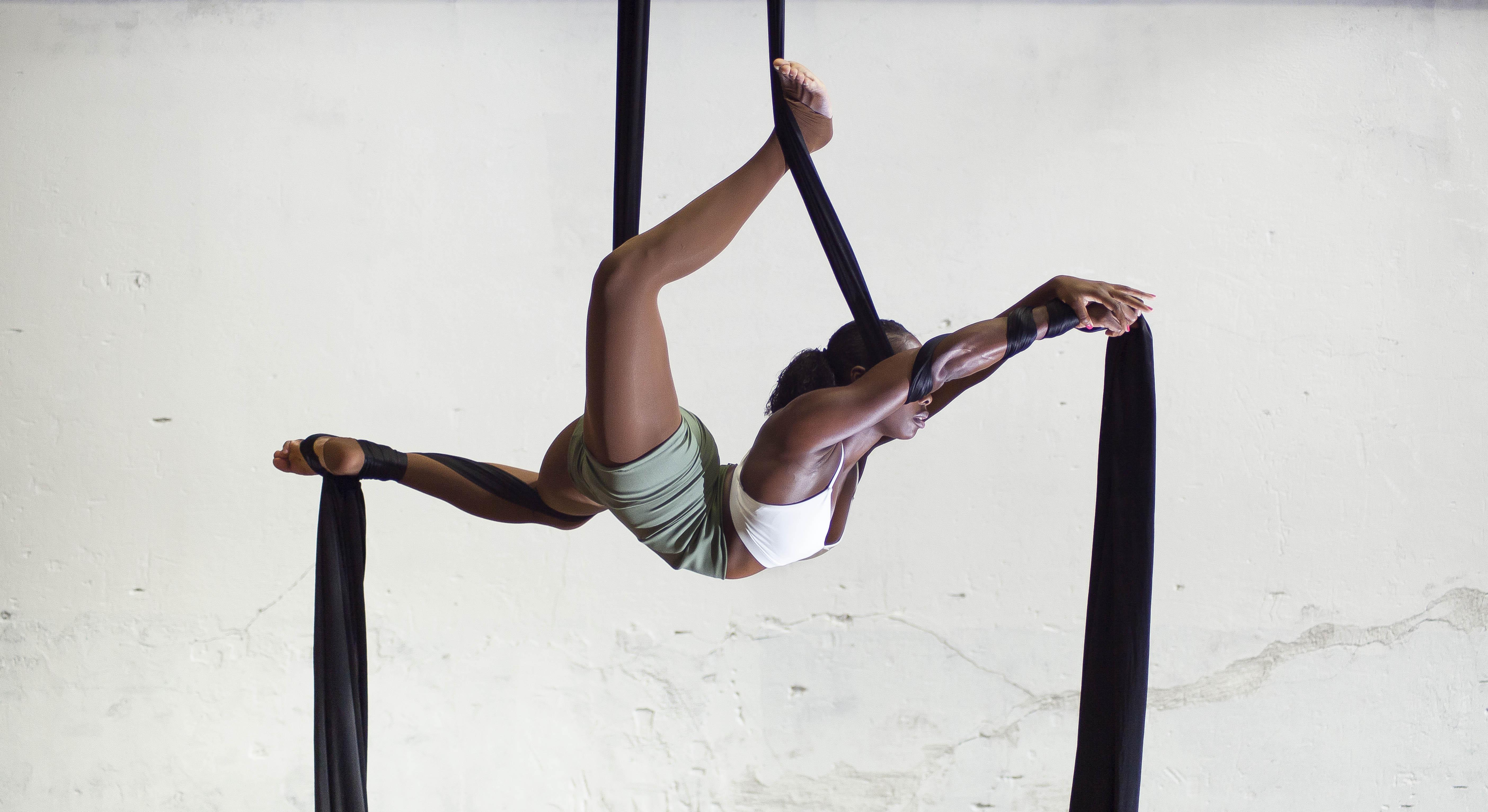 Aerial Silk Course